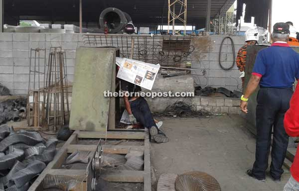 Factory Worker Killed By Moving Machinery Borneo Post Online