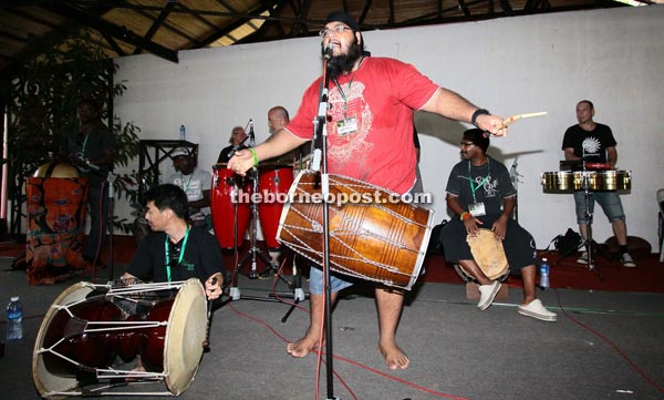 Come see world's best drummers, percussionists at RWMF 2012
