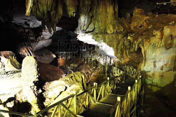 ATTRACTION: A section of Wind Cave's interior which visitors can explore to experience its wonders.