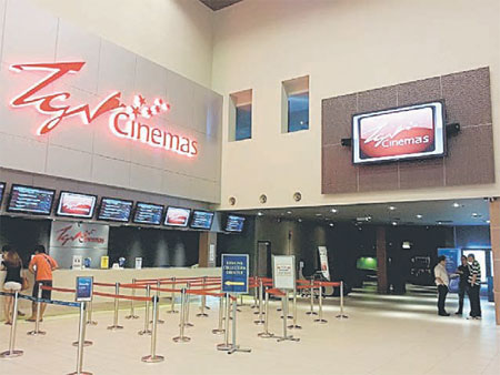 Tgv Cinemas Set To Open First Cinema In East Malaysia By Early 2014 Borneo Post Online