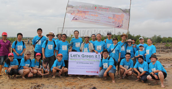 Fuji Xerox doing its part for environment | Borneo Post Online