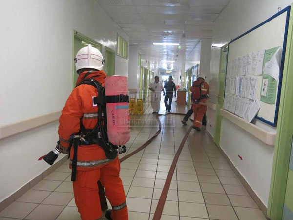 Sarikei Fire Chief Accord Fire Drills Serious Attention