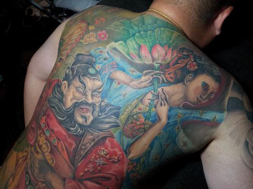 Local Tattoo Artist Beats The Odds Borneo Post Online