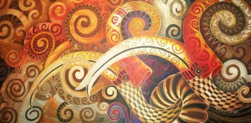 Narong A Freeform Silk Painter Star Borneo Post Online