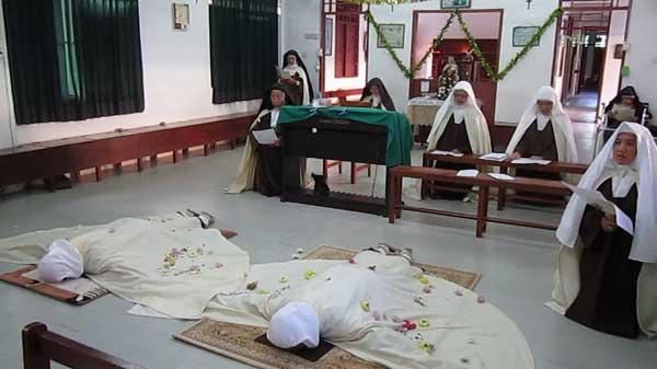 Kenyah twins take vows to become Carmelite nuns | Borneo Post Online