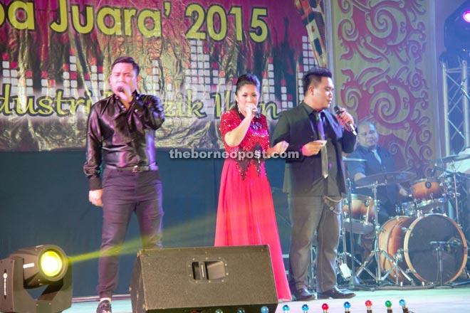 Guest artistes perform.