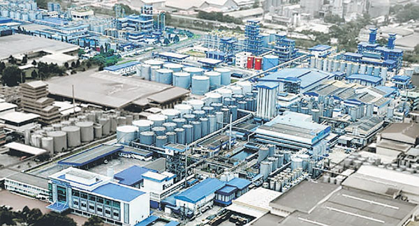 File photo shows IOI's facilities in Johor Bahru. Analysts view this update as a potential downside risk to IOI as the suspension of RSPO certification would impact its downstream operation.
