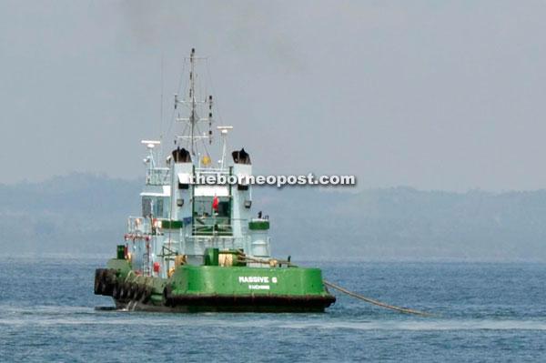 A file photo of the tugboat.