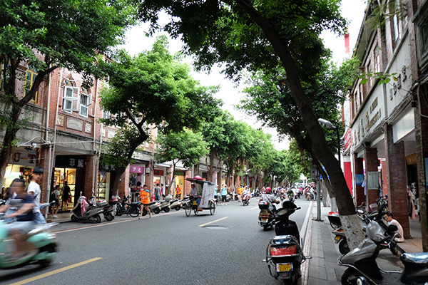 A view of Tumen Street in Quanzhou.