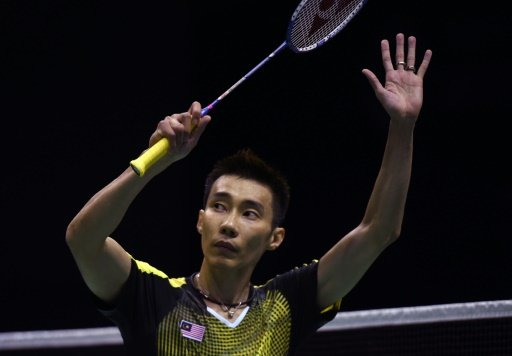 Lee Chong Wei's trophy case is packed with virtually every piece of badminton silverware available, but no Olympic or world championship. Photo by AFP