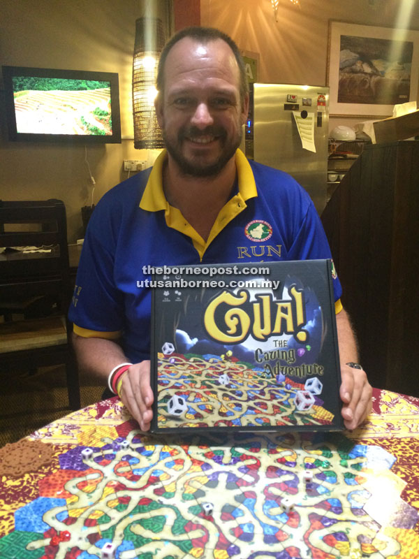 Alex Jefferson from Beast of Borneo is ready to share 'Gua!' with the world.