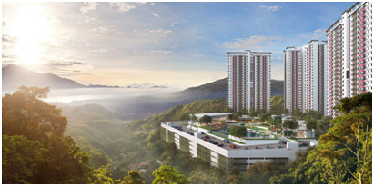 Figure 3–Bukit Bantayan Residences offer a retreat-inspired lifestyle to homebuyers