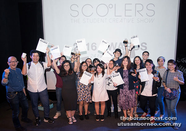 The One Academy Students Shine At The Scooler Awards Borneo Post Online