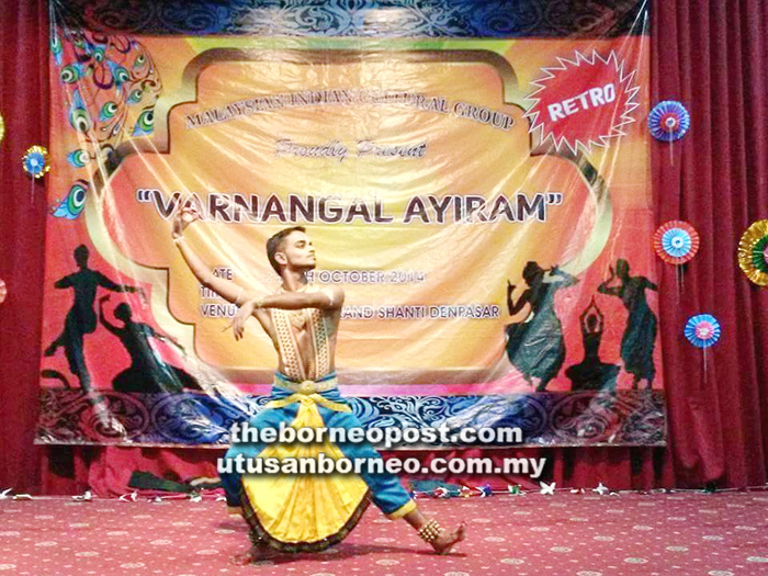 A passion for classical Indian dance | Borneo Post Online