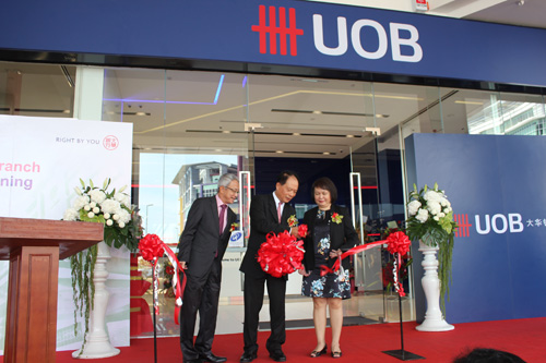 Uob Malaysia New Centre To Meet Growing Affluence Borneo Post Online