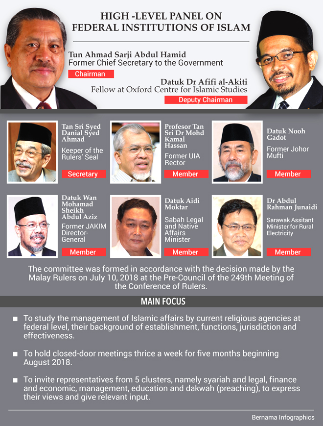 Islamic panel report expected in early January 2019 — Ahmad