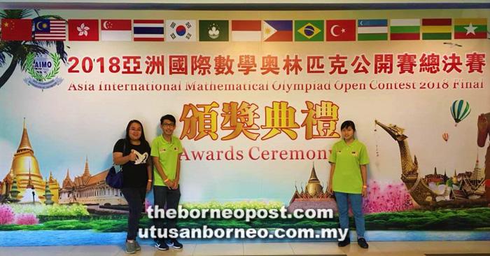 SMK Limbang duo win bronze award at maths competition