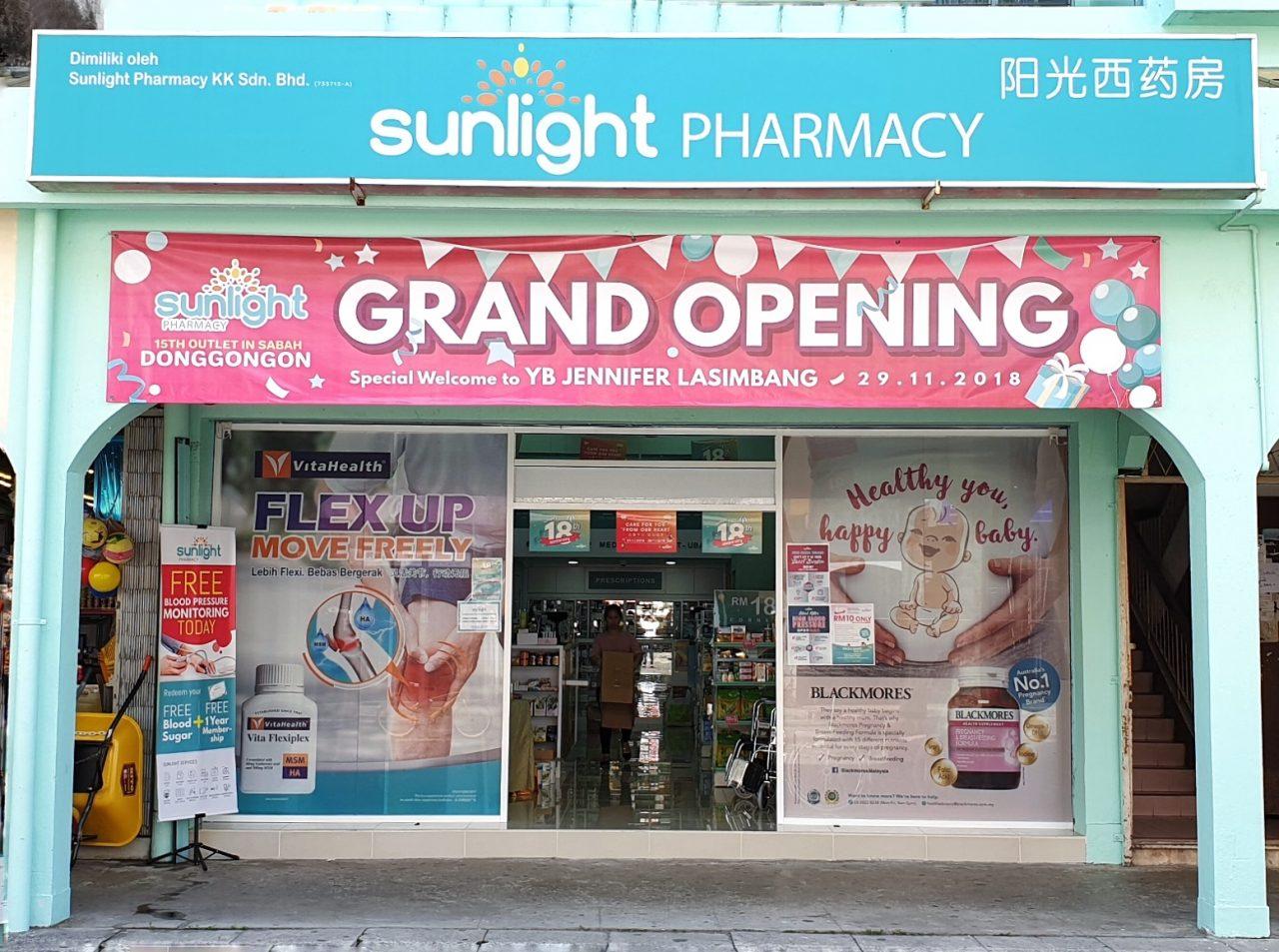 Edisiviral Sunlight Pharmacy Celebrating 18th Anniversary With