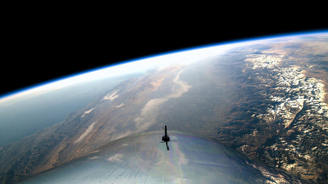 Virgin Galactic's spaceplane successfully tests edge of space