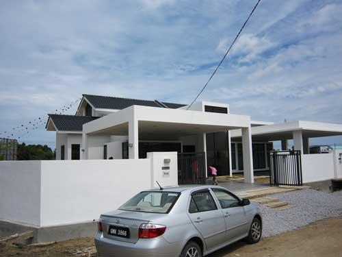 Polar S One Storey Semi Detached Houses Now On Sale Borneo Post Online