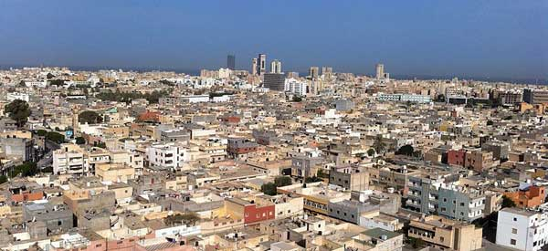 REVIVING ECONOMY: File photo shows Tripoli, the capital of Libya. Libya wants to revive its economy and put it back in order after experiencing a civil war two years ago.