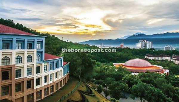 Universiti Malaysia Sabah Hi Tech Campus In Lush Rainforest Borneo Post Online