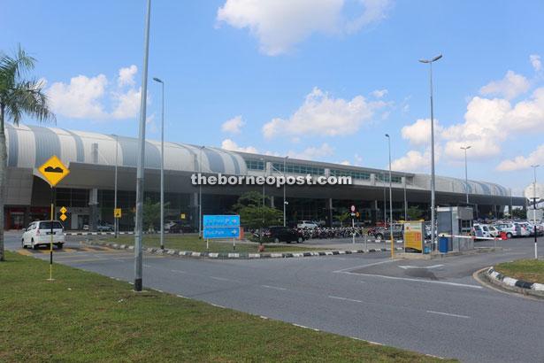 The Sibu Airport.