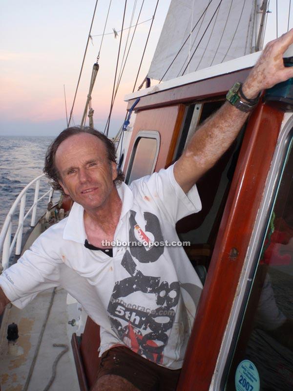 Amateur marine archaeologist, Hans Berekoven.