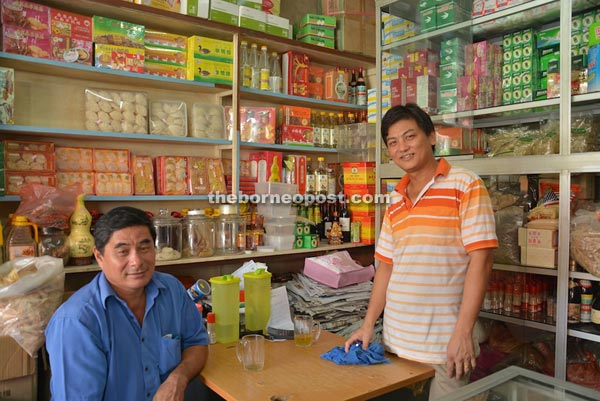 Chinese traditional herbs store owner Wong Pik Luk in the herbs store.