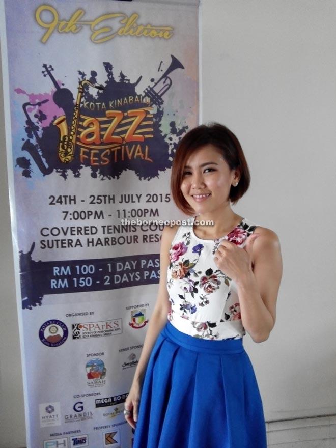 Penang-born Chinese jazz-pop songstress, May Mow.