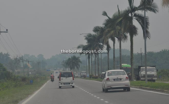 The API reading in Sibu was 92 as of 2pm yesterday.