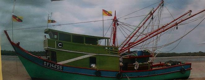 Fishing vessel SF1-4655.