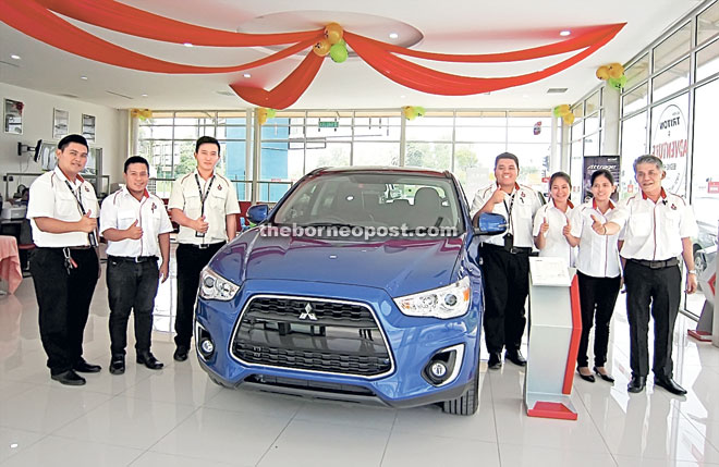 Jl Nippon Auto Unveils Enhanced Mitsubishi Asx With Refreshed