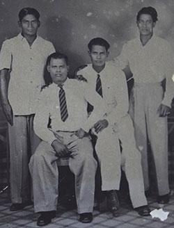 Abdul Basha and his siblings.