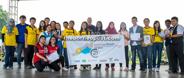The five teams representing East Malaysia in the KLESF 2015.