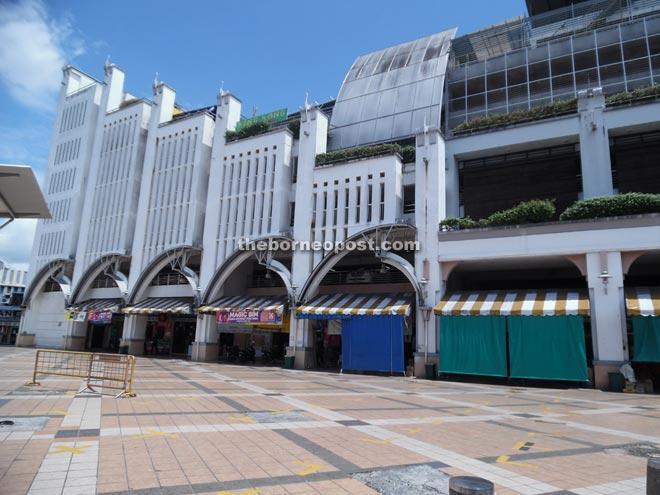 Sibu Central Market.