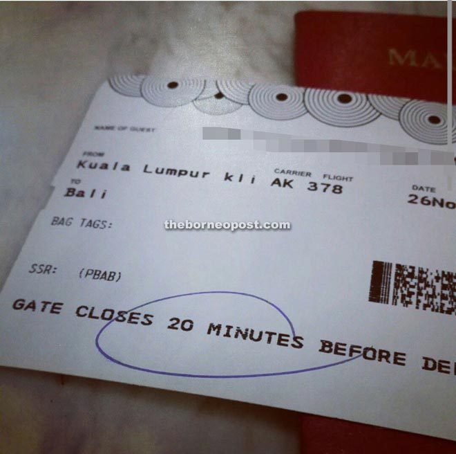 You better think twice about posting image of your boarding pass online.