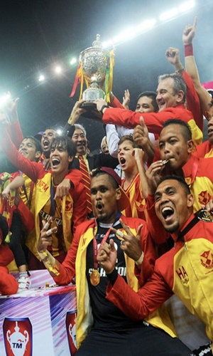 Selangor won 2-0 over Kedah. -Bernama photo.