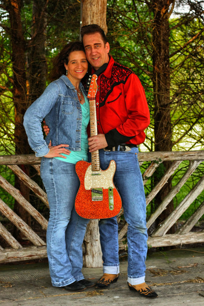 2Country4Nashville duo who are making the best out of their 'too country' music.