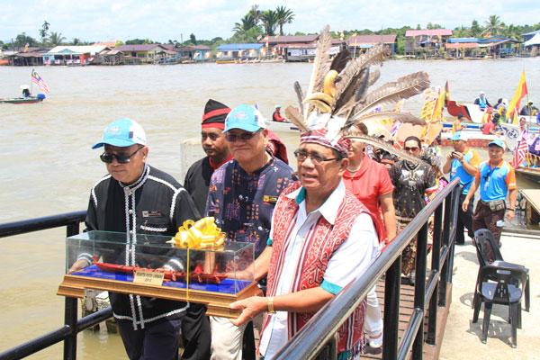 Cultural melting pot — the Iban, Bisaya, Chinese, Kedayan and Orang Ulu communities of Limbang.