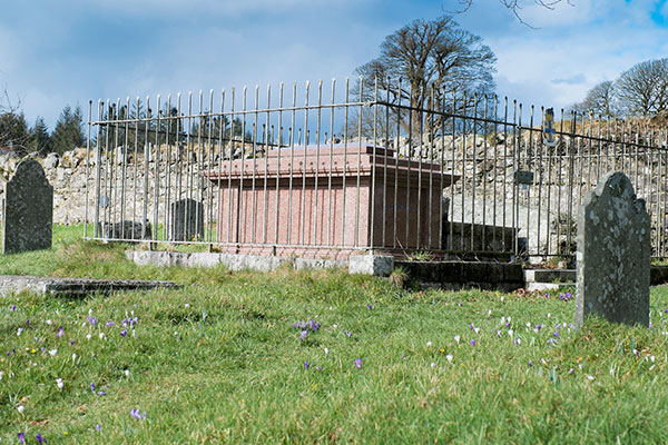 The tombs of the Brooke Rajahs are seen in the St Leonard's Church back churchyard. — Photos by Revd Prebendary Nick Shutt