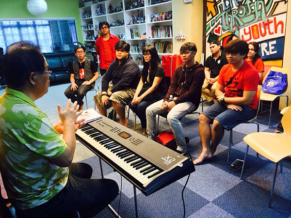 The Hub at MJC offers free music lessons and workshops for urban youth as well as a safe place to hang out.