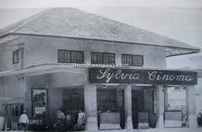 The Sylvia Cinema used to be on the site where the Yayasan Sarawak building stands today.