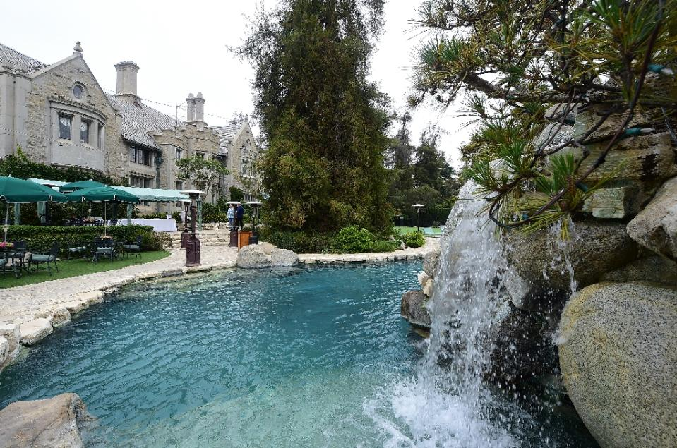 Playboy's move to the mainstream comes with the parent company on sale at an estimated $500 million and the mansion itself also on the market. Photo by AFP