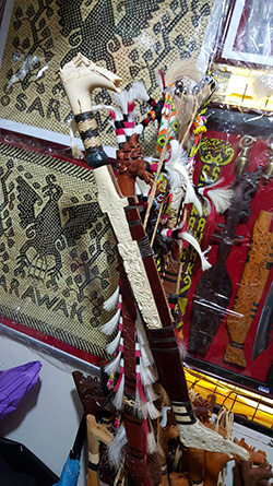 Among the native crafts that could be included in the proposed Miri Heritage Museum.