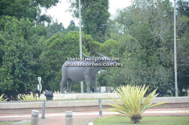Limbang's icon is the water buffalo.