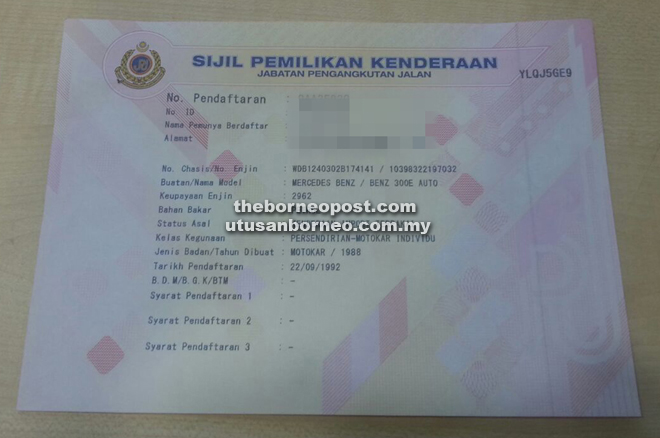 Jpj Doing Away With Green Cards Borneo Post Online