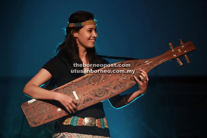 Sape musician and visual artiste Alena Murang.