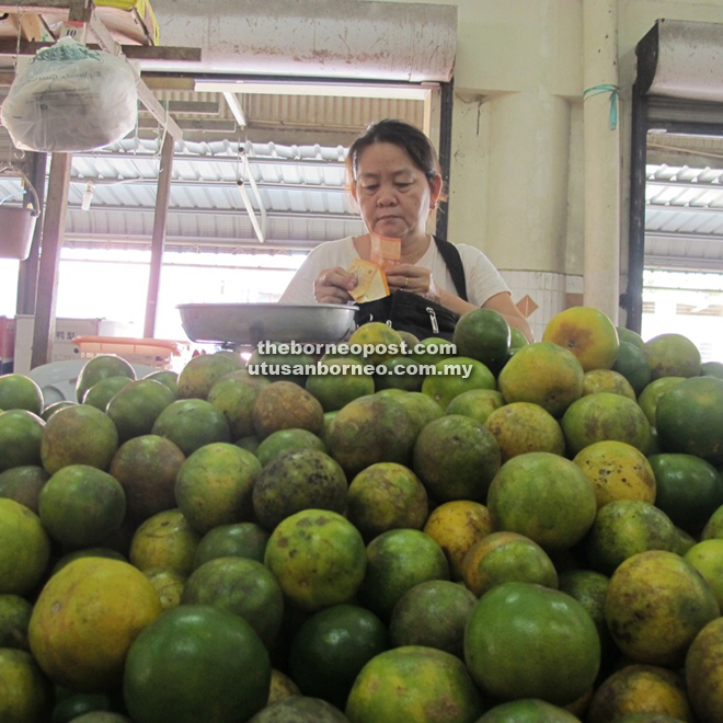 Like Bintangor and Sarikei, Beaufort is also known for green orange and pineapple.