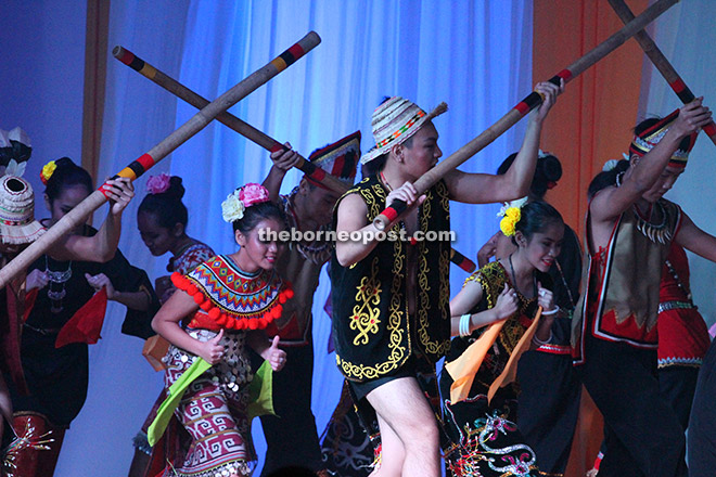 'Ajat Simongi', a vibrant display of ethnic costumes and culture.